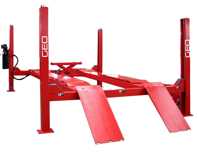 4 Tonne 4.3 Metre 4 Post Wheel Alignment Car Lift