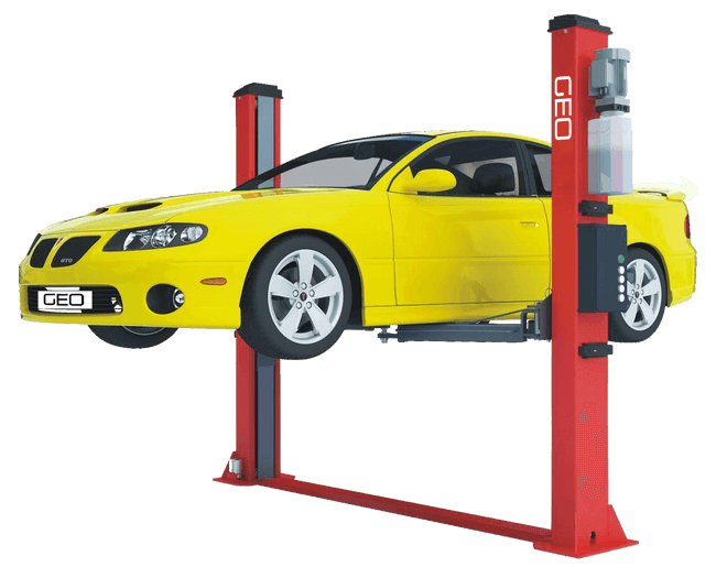 4 Tonne Electronic Release 2 Post Car Lift