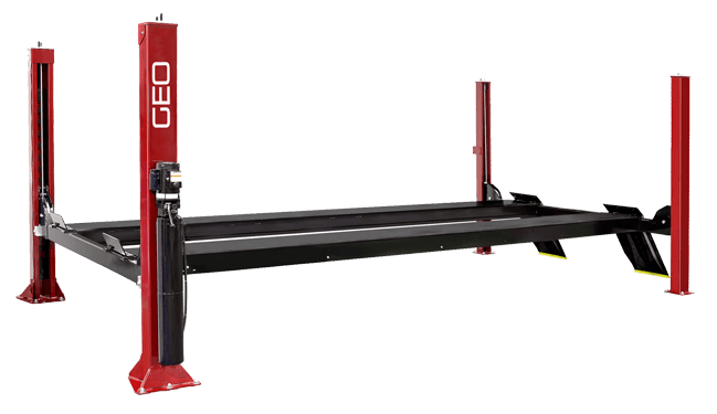 5 Tonne 5.7 Metre Standard Platform 4 Post Car Lift