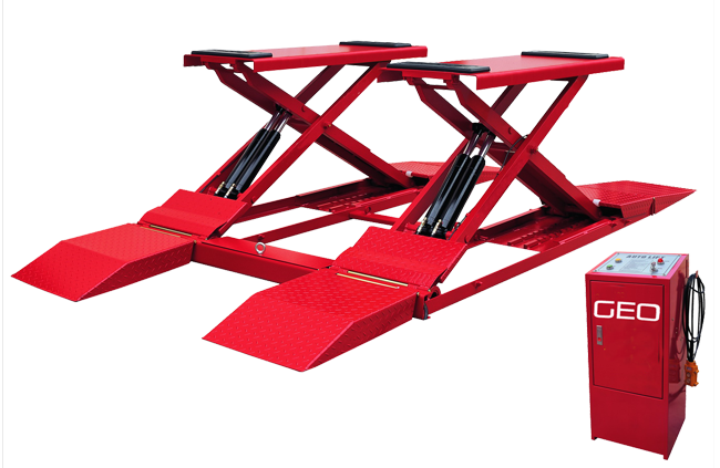 GEO 3 Tonne Full Rise Car Scissor Lift